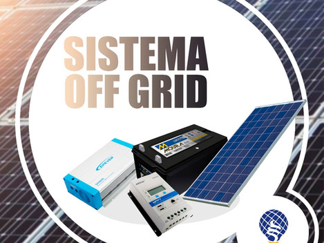 Sistema Off-Grid (Sem conexão à Rede de Distribuição)