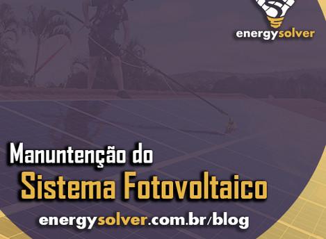 Manutenção de um sistema fotovoltaico