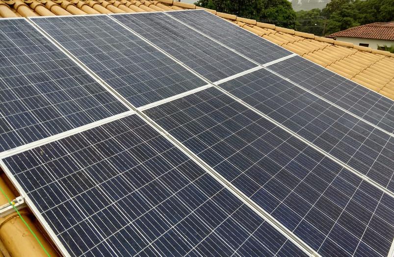 Usina Fotovoltaica Capitólio