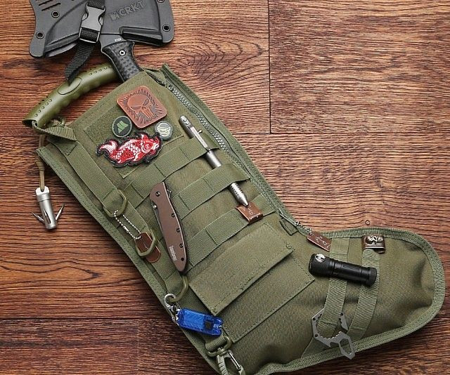 Tactical army Xmas stocking available from Amazon