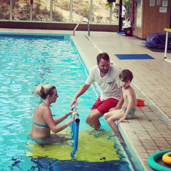 1st swimming lesson
