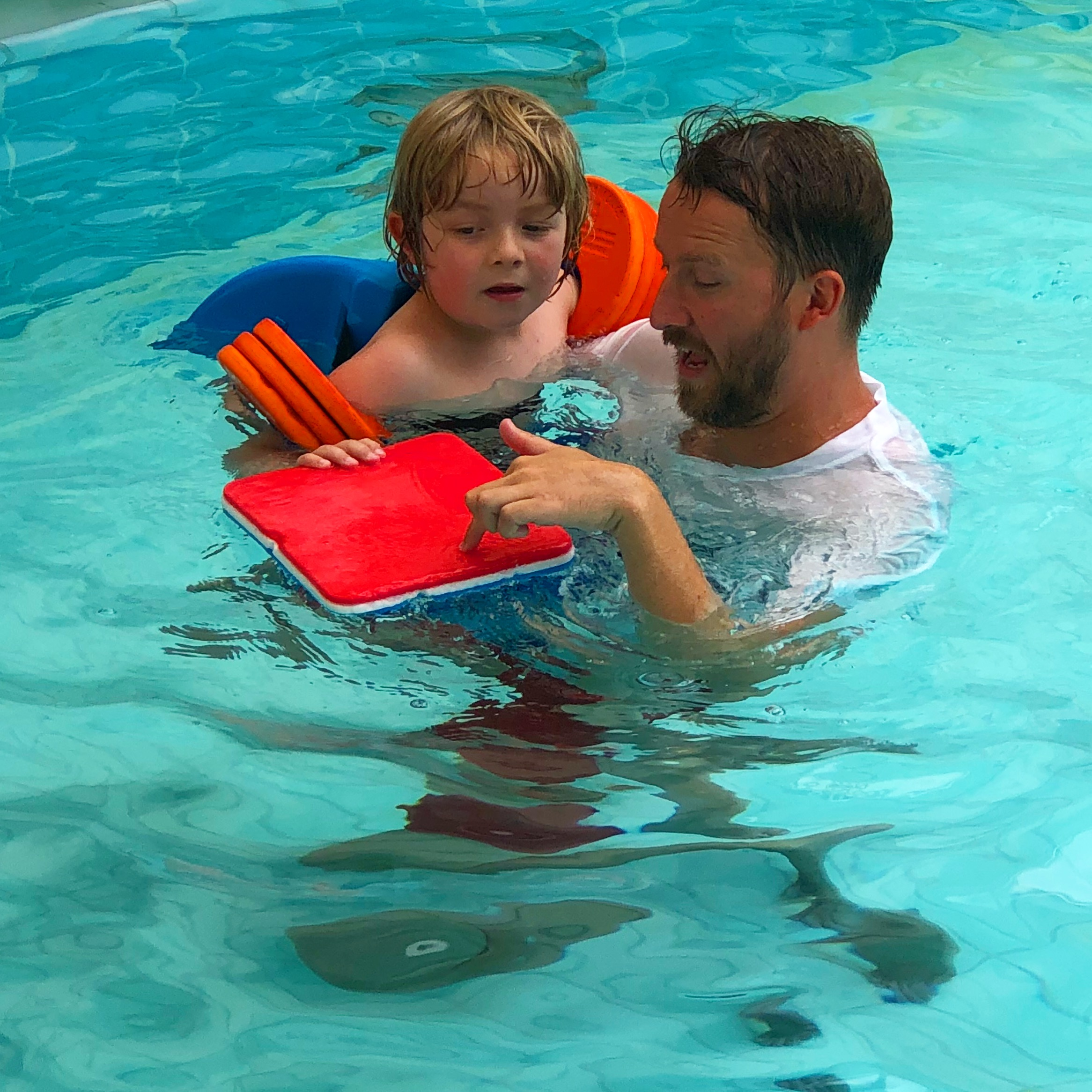 Learning to swim with Ash