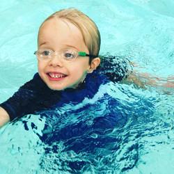 Cash can swim!