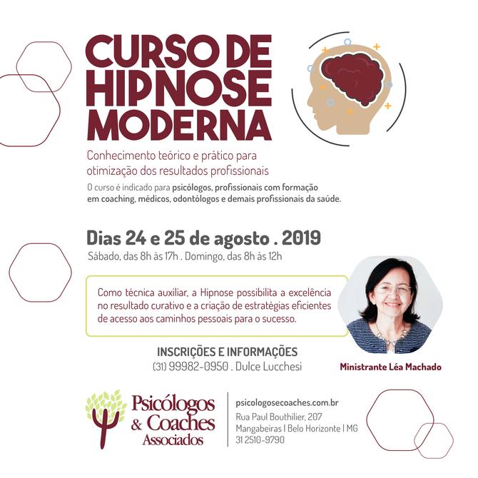 CURSO DE HIPNOSE MODERNA - Conhecimento teórico e prático para otimização dos resultados profissiona