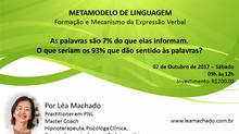 METAMODELO DE LINGUAGEM Formação e Mecanismo da Expressão Verbal