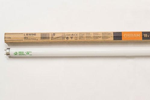 Lâmpada Fluorescente LUMILUX T8 L18W 840 - Osram