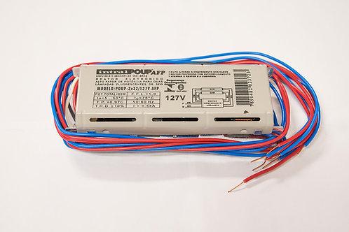 Reator Eletrônico AFP 2x32W - 127V T8 - Intral