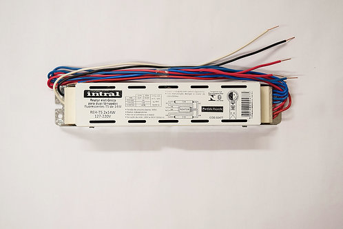 Reator Eletronico REH AFP 2x14W - 127-220V 4P - Intral