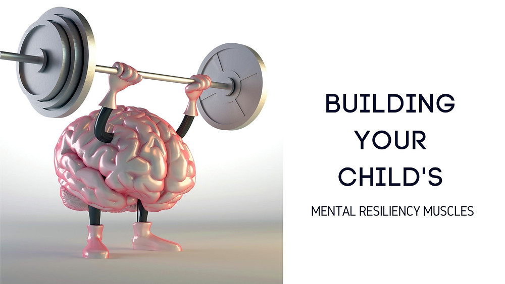A brain lifting weights.