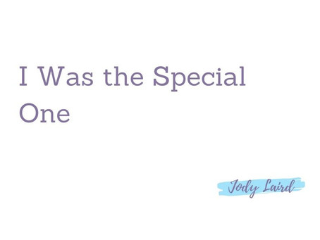 I Was the Special One