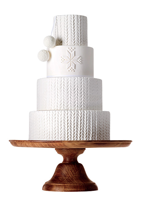 Top 10 Most Creative Wedding Cakes of the year according to Brides.com