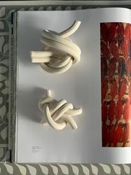 bare, porcelain knots