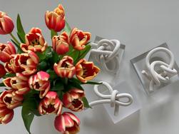 bare porcelain knots