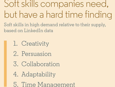 The 5 Most Important Career Soft Skills