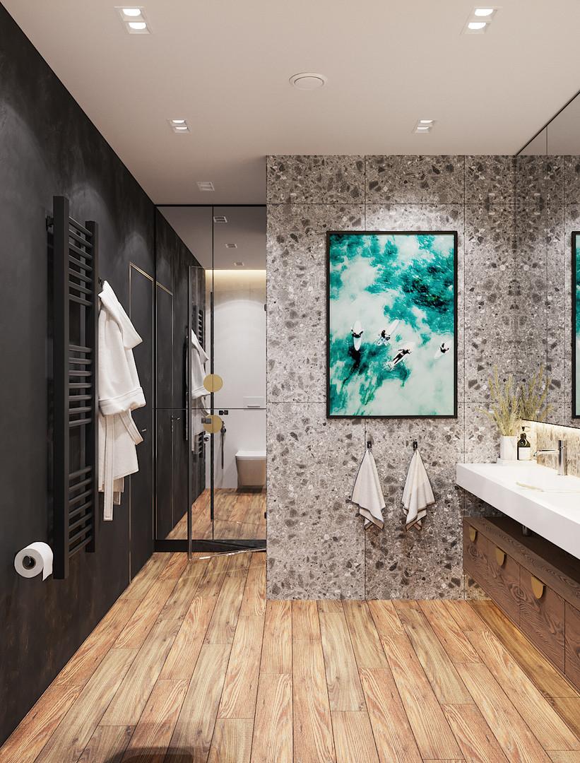 италон плитка в ванной комнате