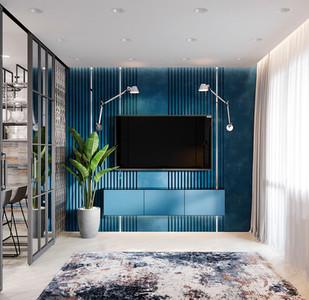ПРОЕКТ BLUE ICE | квартира