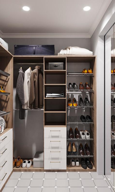 гардероб дизайн