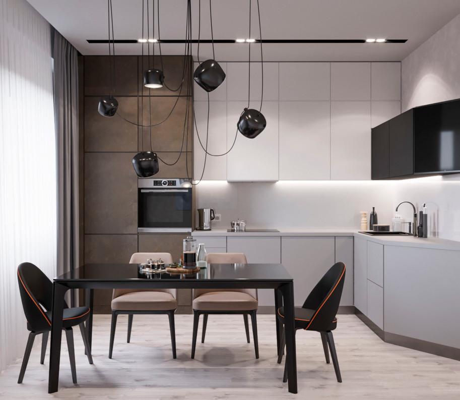 кухня дизайн проект современный