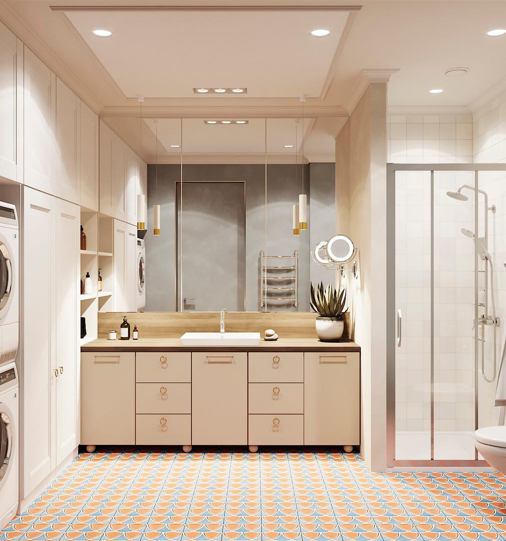 ванная комната дизайн-проект
