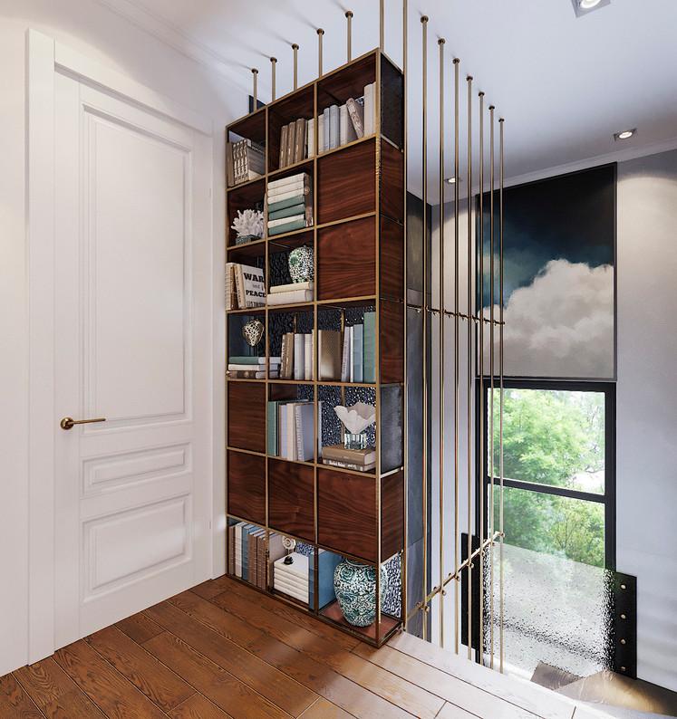 лестничный холл дизайн