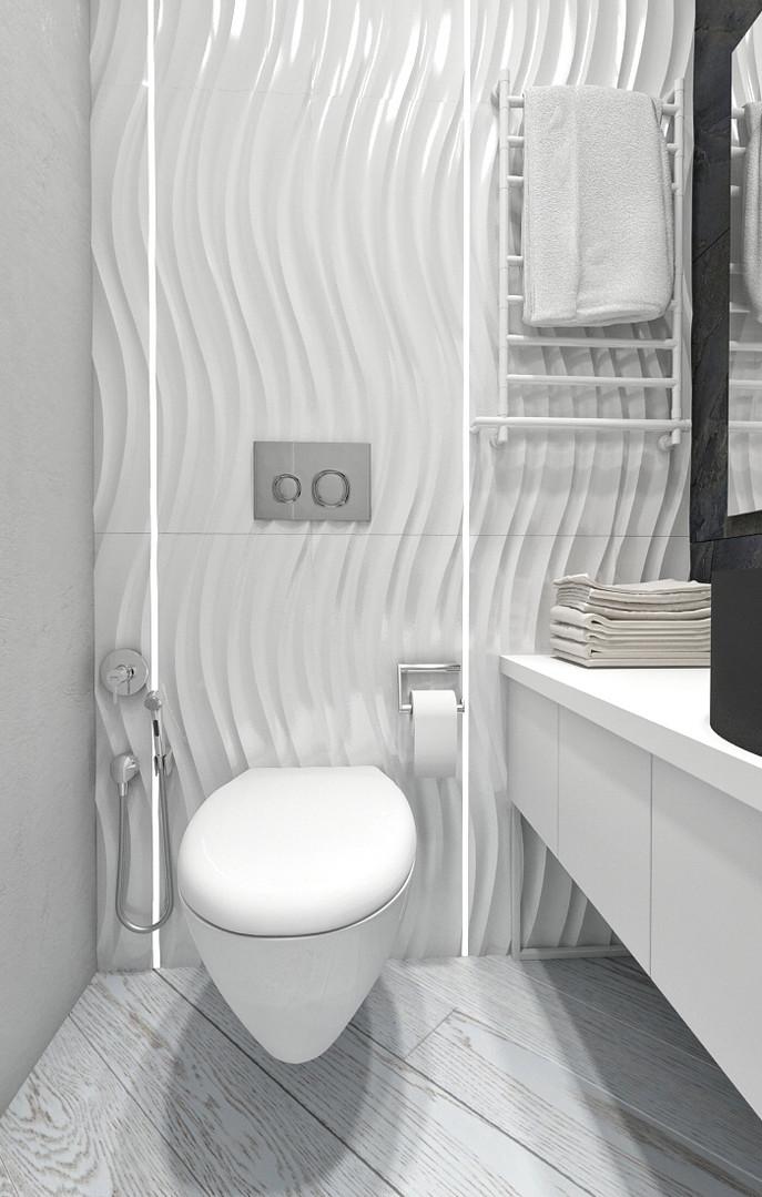 3д плитка в ванной