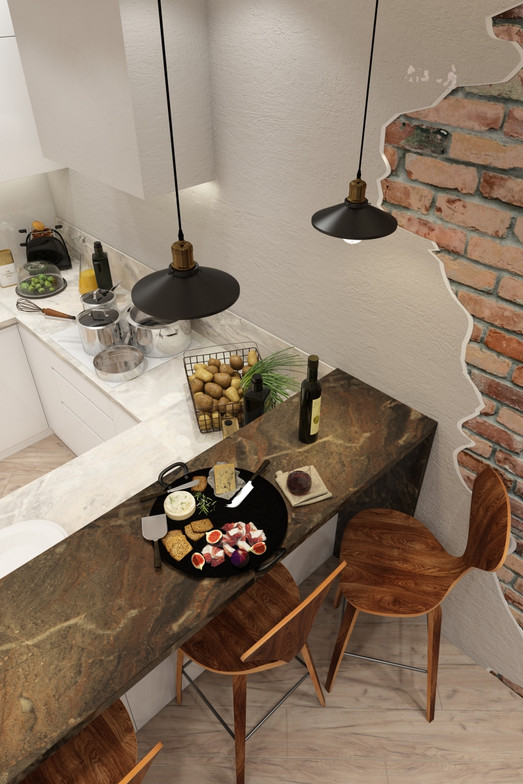 барная стойка на кухни