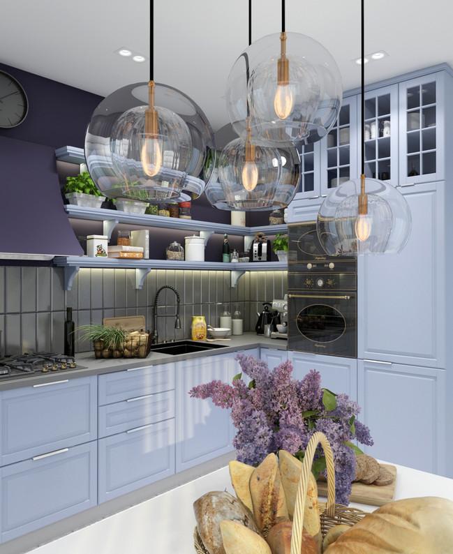 кухня прованс в интерьере