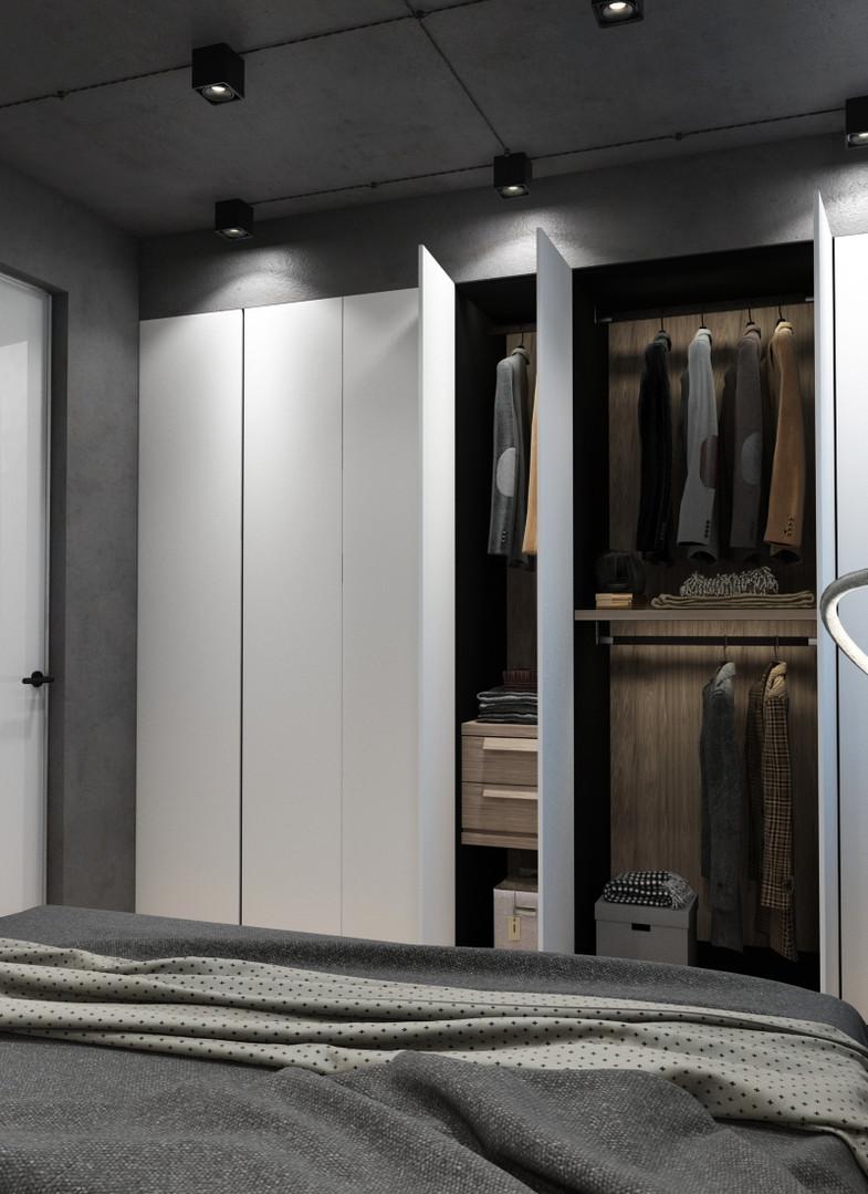 минимализ шкаф