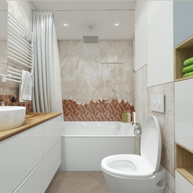 ванная мозаика дизайн