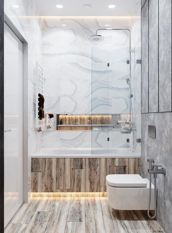 ванная мрамор калаката