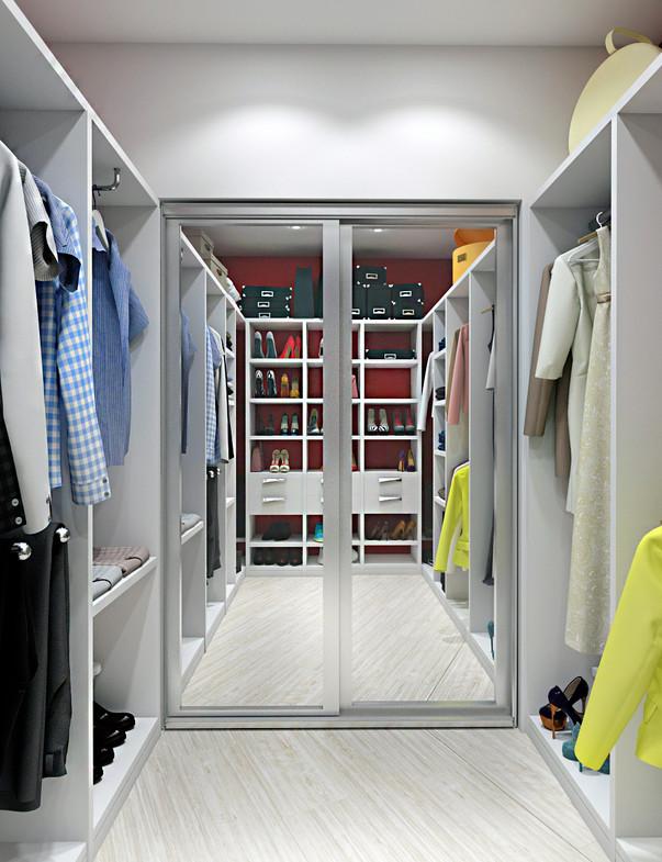 гардеробная  дизайн-проект