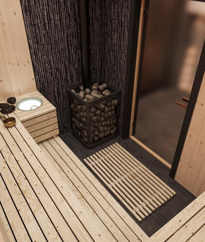 баня в интерьере