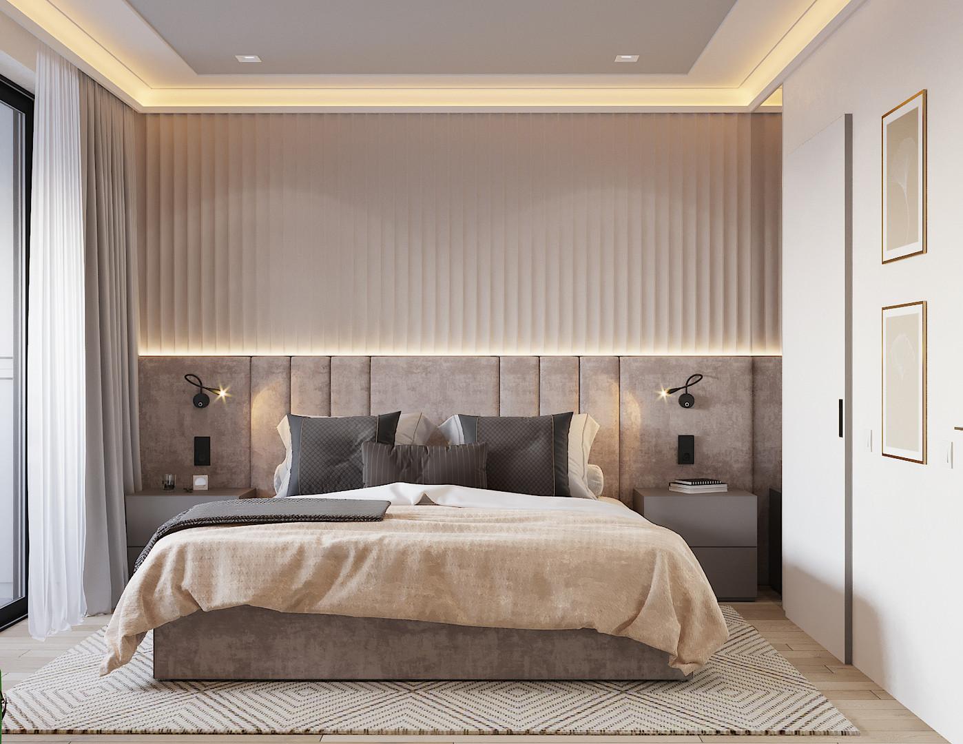 проект спальни