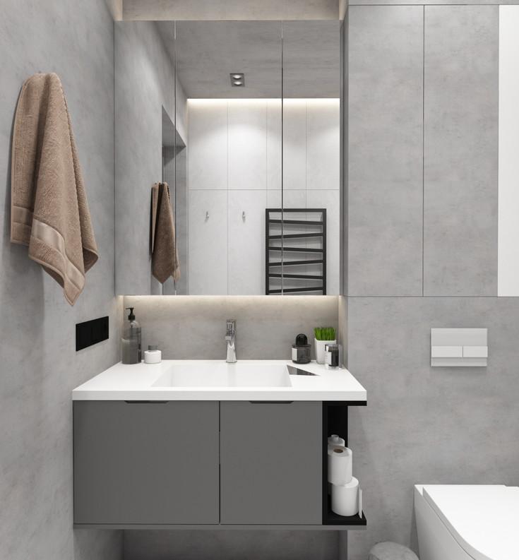 ванная комната 2020