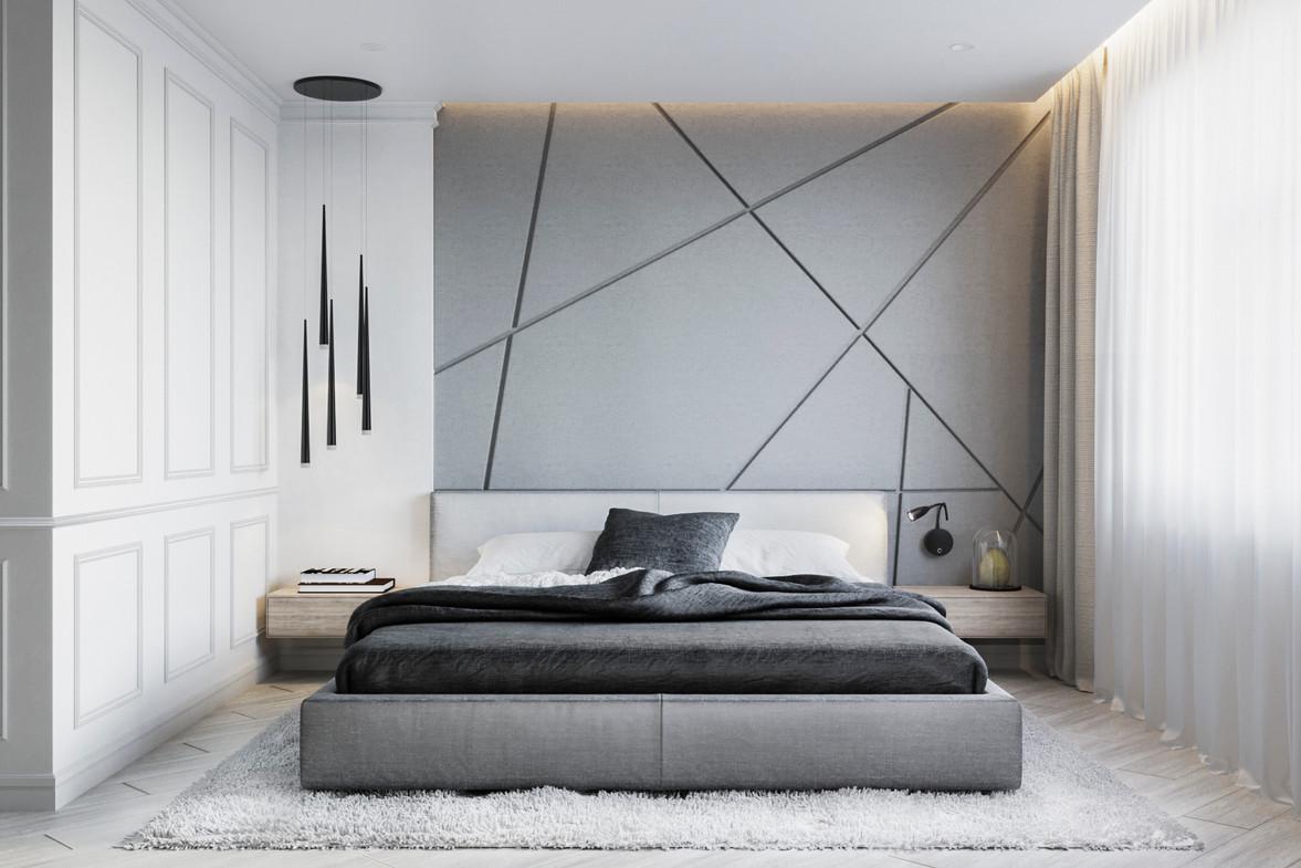 современная спальня дизайн проект