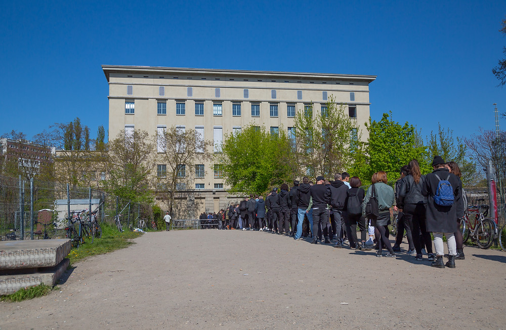While waiting for its line to get back, Berghain is turning into a museum.