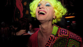Photographer Aghia Sophie used to cover some of Berlin's most famous nightclubs