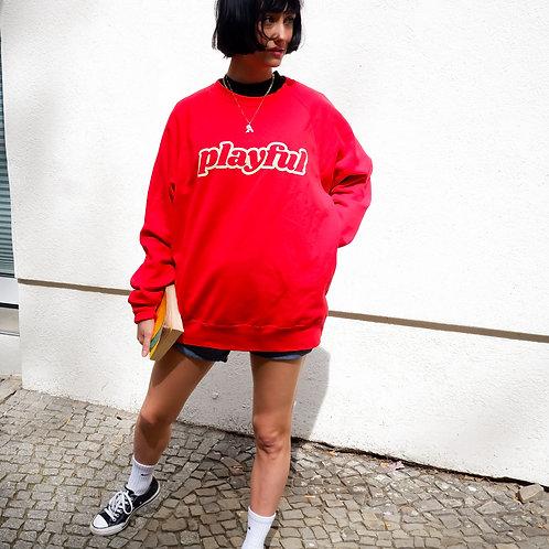 PLAYFUL Sweatshirt (red)