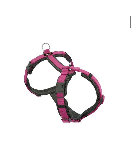 Dogfellow Brustgeschirr Easy, Farbe: schwarz-pink