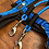 Thumbnail: Führleine blau-schwarz