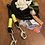 Thumbnail: Dogfellow Brustgeschirr Secure Easy, Farbe: neongelb-schwarz