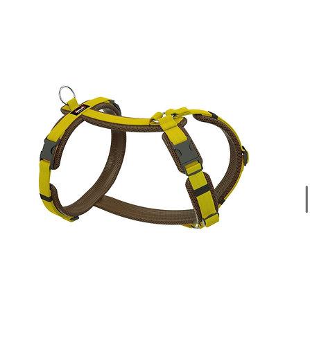 Dogfellow Brustgeschirr Easy, Farbe: braun-gelb