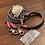 Thumbnail: Halsband + Leine Set in grau-neonpink