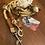 Thumbnail: 2-fach verstellbare Führleine mit Ledertakling, Tauwerk gedreht
