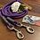 Thumbnail: Führleine lila-grau