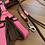Thumbnail: Führleine braun-rosa