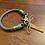 Thumbnail: Lakritzpfote Standard-Halsband (einfache Halsung), Tauwerk in 8mm