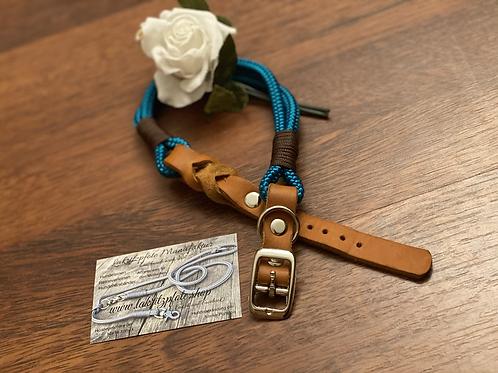 Lakritzpfote Standard-Halsband (verstellbar), Tauwerk in 8mm