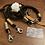 Thumbnail: Lakritzpfote Standard-Halsband (doppelte Halsung), Tauwerk in 10mm