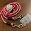 Thumbnail: Führleine rosa-braun